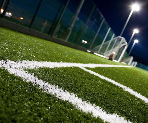 Arena para cancha de futbol sintético