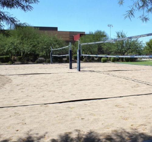 Arena para cancha de voleibol