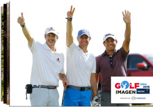 Gira de Golf Imagen Vector